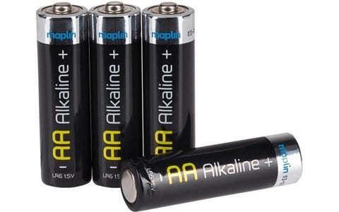 Maplin Extra Long Life High Performance Alkaline AA 1.5V Batteries Box of 100
