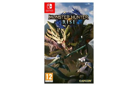 Nintendo Switch Monster Hunter Rise Game