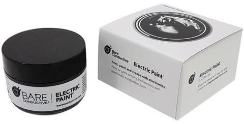 Bare Conductive Electric Paint / Soldering Glue 50ml Pot