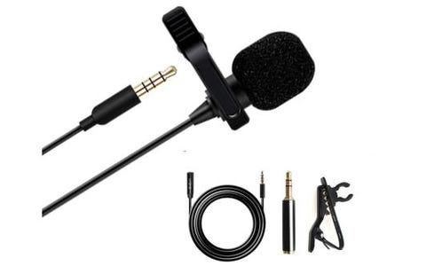 Maono Lavalier Clip On Lapel Microphone with Extension Cable (6m) & 4 Pole 3.5mm Jack Adapter