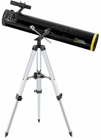 National Geographic 114/900 AZ Reflector Telescope - Black