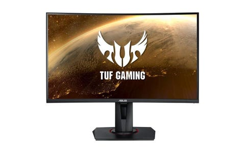 "ASUS TUF VG27WQ 27"" Widescreen 2560 x 1440 QHD Curved Gaming Monitor - Black"