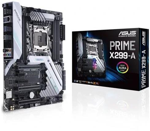 ASUS Intel Core-X PRIME X299-A Extreme ATX Motherboard