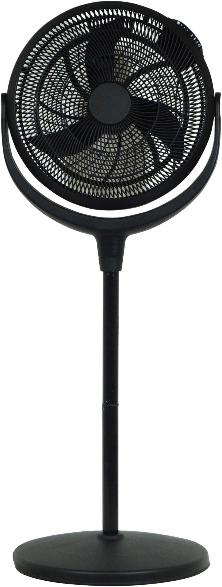 "Prem-i-air 16"" Power Stand Fan with Timer    Remote Control - Black"