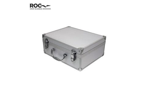ROC Cases Aluminium Flight Case Including Foam - Silver