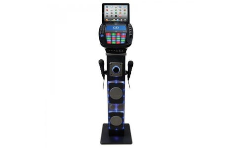 Easy Karaoke Karaoke Bluetooth System With Speaker Pedestal & Disc Set