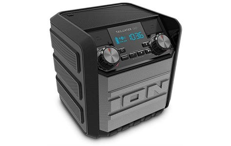 ION Tailgater Go Water-Resistant Portable Wireless Bluetooth Speaker System