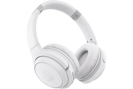 Audio-Technica ATH-S200BT Wireless On-Ear Headphones - White