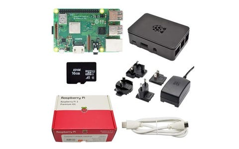 Raspberry Pi 3B+ Premium Kit