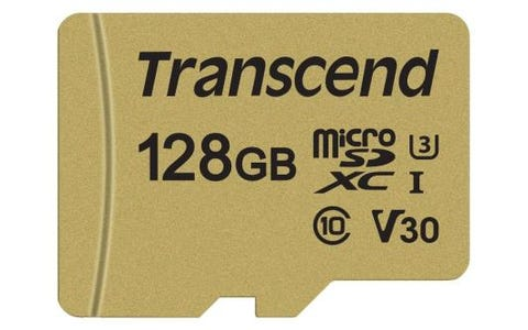 Transcend 128GB UHS-I U3 MLC High Endurance MicroSD Card with Adapter