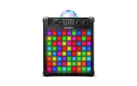ION Party Rocker Max 100W Portable Bluetooth Party Speaker System & Karaoke