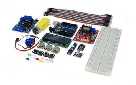 Ebotics Build & Code Plus Electronic and Programming Extended Kit