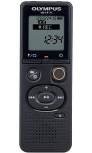 Olympus VN-541PC 4GB Digital Voice Recorder inc Battery & Micro USB Cable - Black