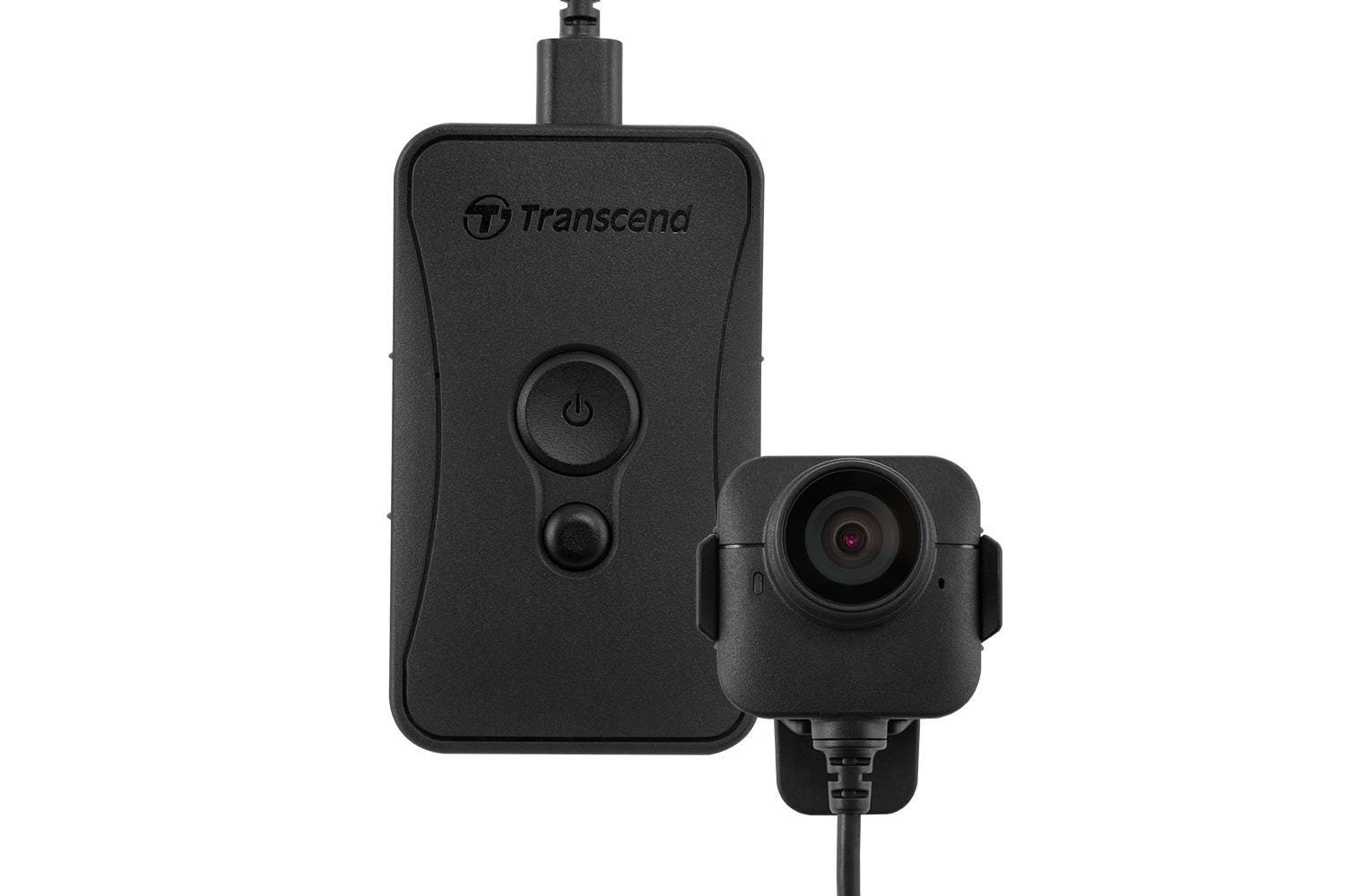 Transcend DrivePro 52 Body Camera with Separate Camera - 32GB, Black