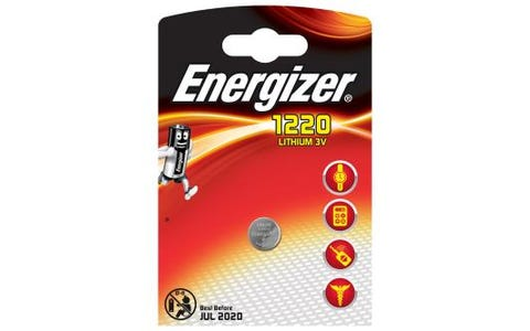 Energizer CR1220 Lithium Coin Cell Battery - 3V