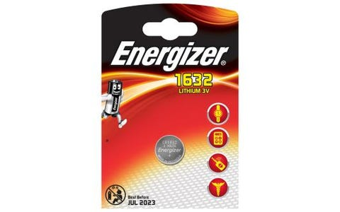 Energizer CR1632 Lithium Coin Cell Battery 3V