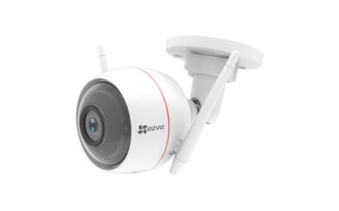 EZVIZ Full HD Outdoor Smart Security Cam, With Siren & Strobe Light
