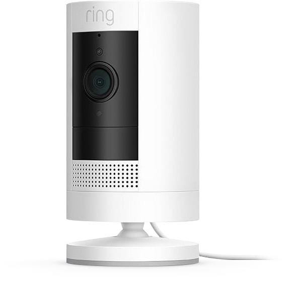 Ring Stick Up (Generation 3) Indoor / Outdoor Wireless Full HD Night-Vision Security Camera - White