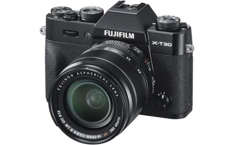 Fujifilm X-T30 Camera XF 18-55mm Lens Kit - Black