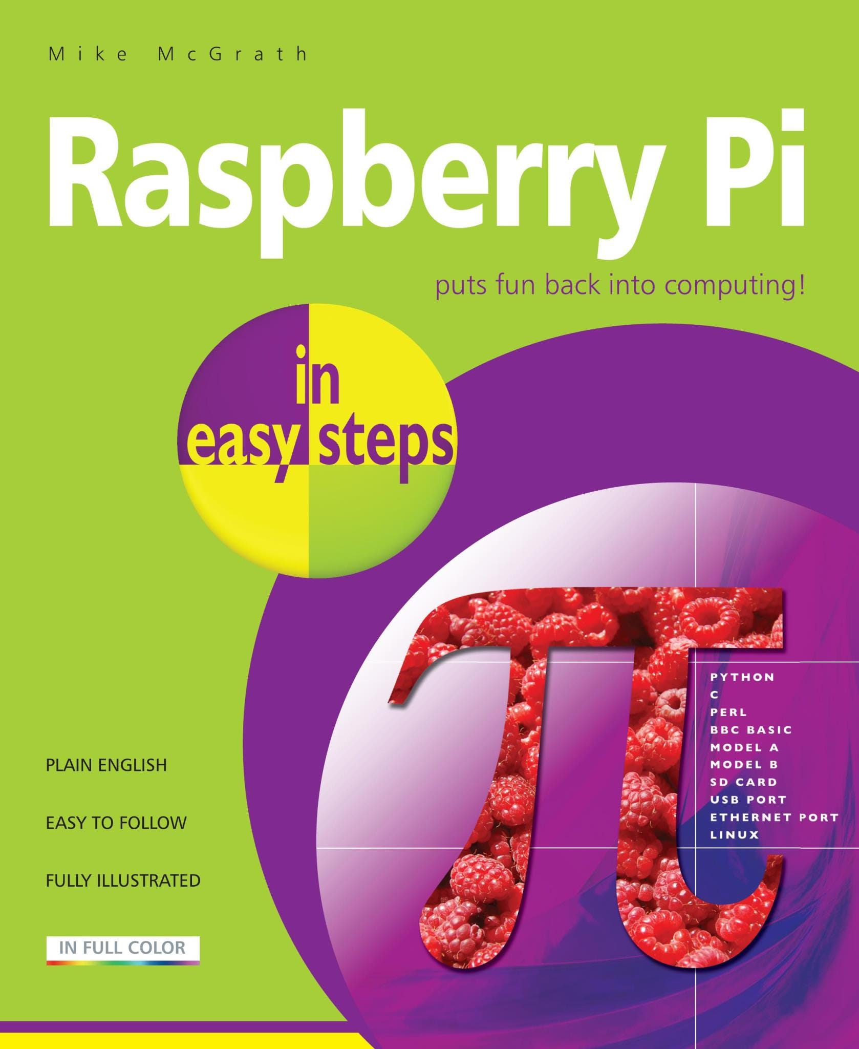 In Easy Steps Raspberry Pi In Easy Steps