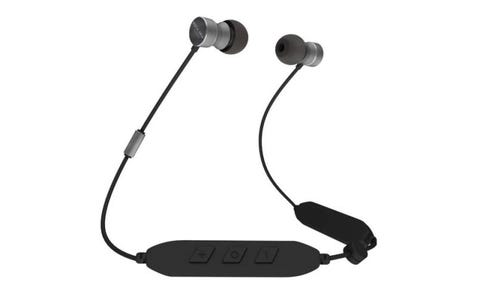 Rock Jaw Audio T5 Ultra Connect Wireless Bluetooth Earphones - Black