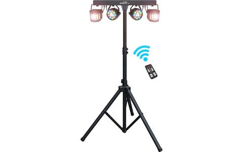 Kam LED Derby Effects Bar Inc. 4 Lights & Stand