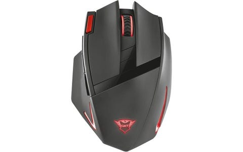 Trust GXT 130 Ranoo 9 Button Wireless Optical Gaming Mouse - Black