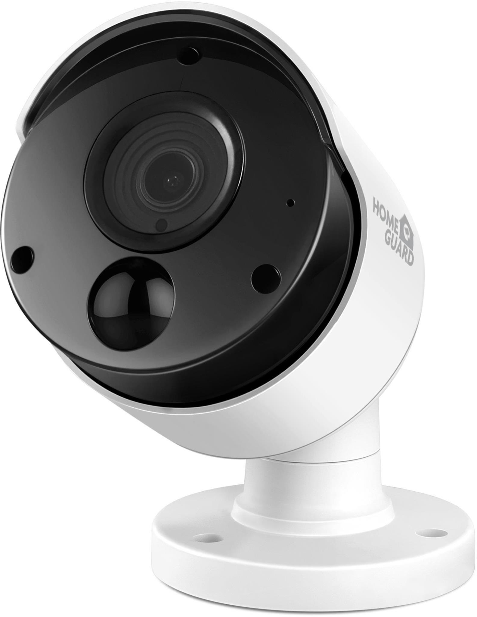 HomeGuard HGPRO-838 Indoor / Outdoor Wired Full HD Night-Vision Security Camera - White