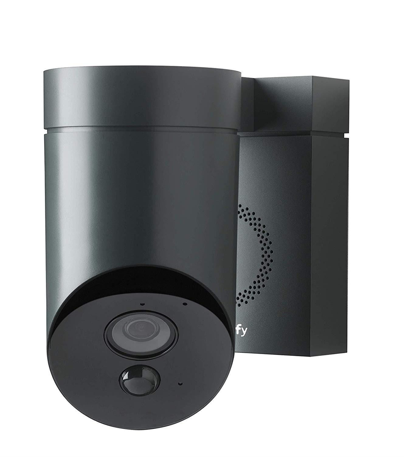 Somfy Outdoor Wireless Full HD Night-Vision Security Camera - Anthracite Grey
