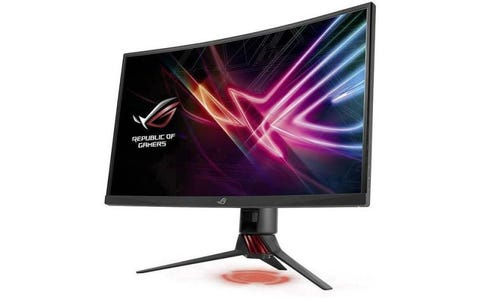 "ASUS XG32VQ STRIX 32"" 2560 x 1440p QHD Curved FreeSync Gaming Monitor - Black"