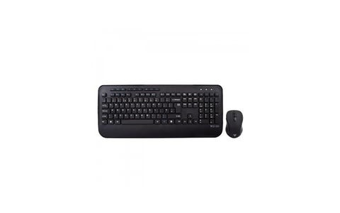 V7 Professional Wireless Keyboard and Mouse Combo - Black