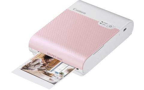 Canon Selphy Square QX10 Instant Photo Printer - Pink