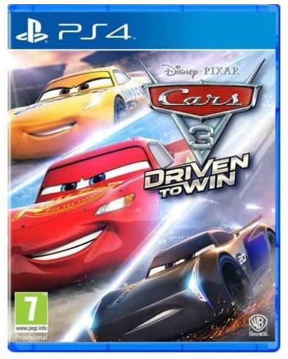 Sony PlayStation 4 Cars 3 - Driven to Win Game