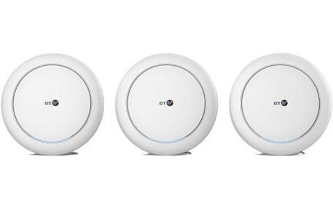 BT Mini Whole Home Wi-Fi (Three Discs) Trio