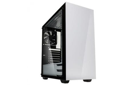 Kolink Stronghold Midi Tower with Tempered Glass Side Window Gaming Case - White