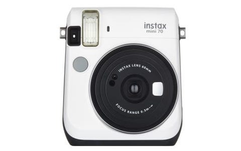 Fujifilm Instax Mini 70 Instant Camera - White inc 30 Shots