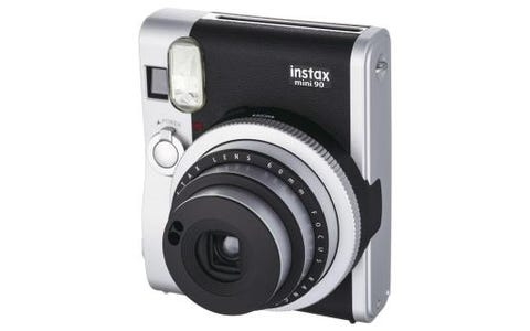 Fujifilm Instax Mini 90 Instant Camera - Black inc 10 Shots