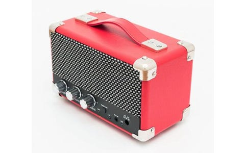 GPO MINI Westwood Bluetooth Retro Speaker - Red