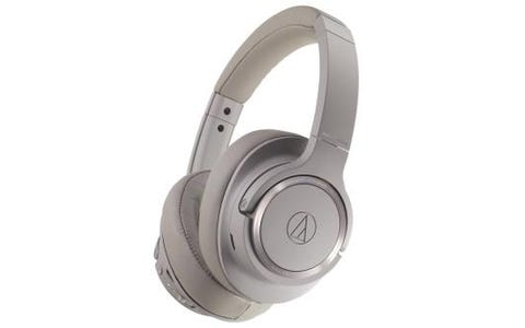 Audio-Technica ATH-SR50BT Wireless Over-Ear Noise Cancelling Headphones Grey