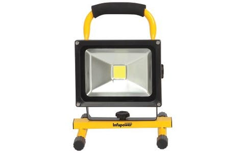 InfaPower 20 Watt LED COB Rechargeable Floodlight Worklight