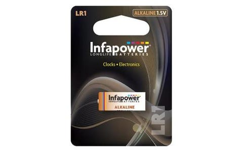 InfaPower LR1 Alkaline 1.5V Battery