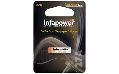 InfaPower 27A Alkaline 12V Battery