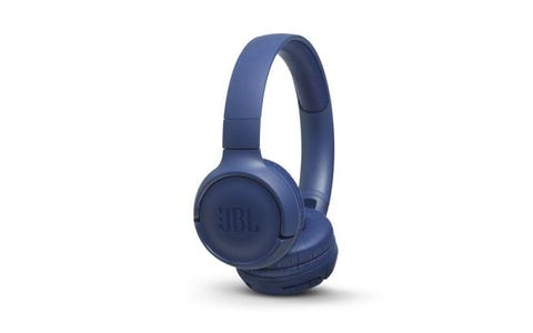 JBL T500BT On-Ear Wireless Headphones - Blue