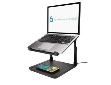 Kensington SmartFit Laptop Riser with Qi Wireless Phone Charging Pad