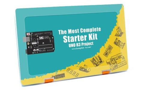 Kuongshun The Most Complete Starter Kit for UNO R3 Projects