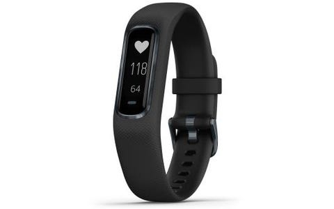 Garmin Vivosmart 4 Fitness Activity Tracker Small/Medium - Black/Slate