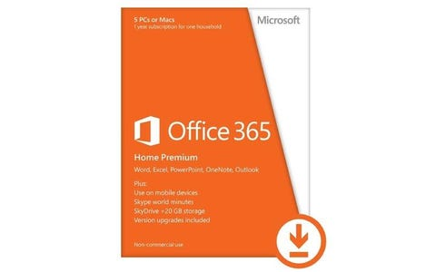 Microsoft Office 365 Home 1-Year