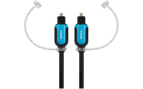 Maplin TOSlink Mini Plug to TOSlink Mini Plug Digital Optical Fibre Cable 10m