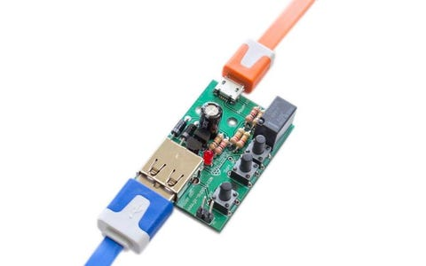 Pi Supply On/Off Power Switch for the Raspberry Pi