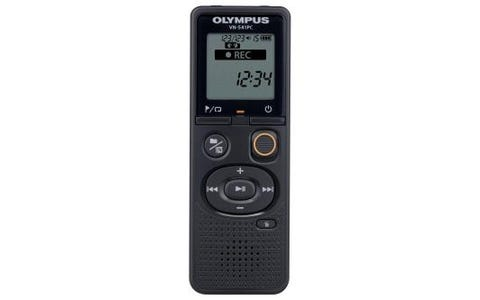 Olympus VN-541PC 4GB Digital Voice Recorder inc Battery & MicroUSB Cable - Black